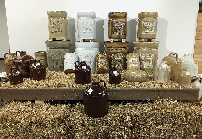 Michael Carr Designs Pottery Showcase Highlights-Farm Life Planters